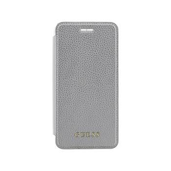 Guess IriDescent Book GUFLBKP7IGLTSI pouzdro flip Apple iPhone 7 silver
