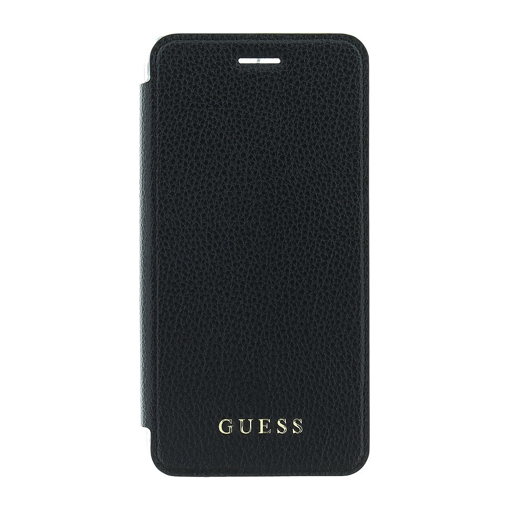 Guess IriDescent Book GUFLBKP7IGLTBK pouzdro flip Apple iPhone 7 black
