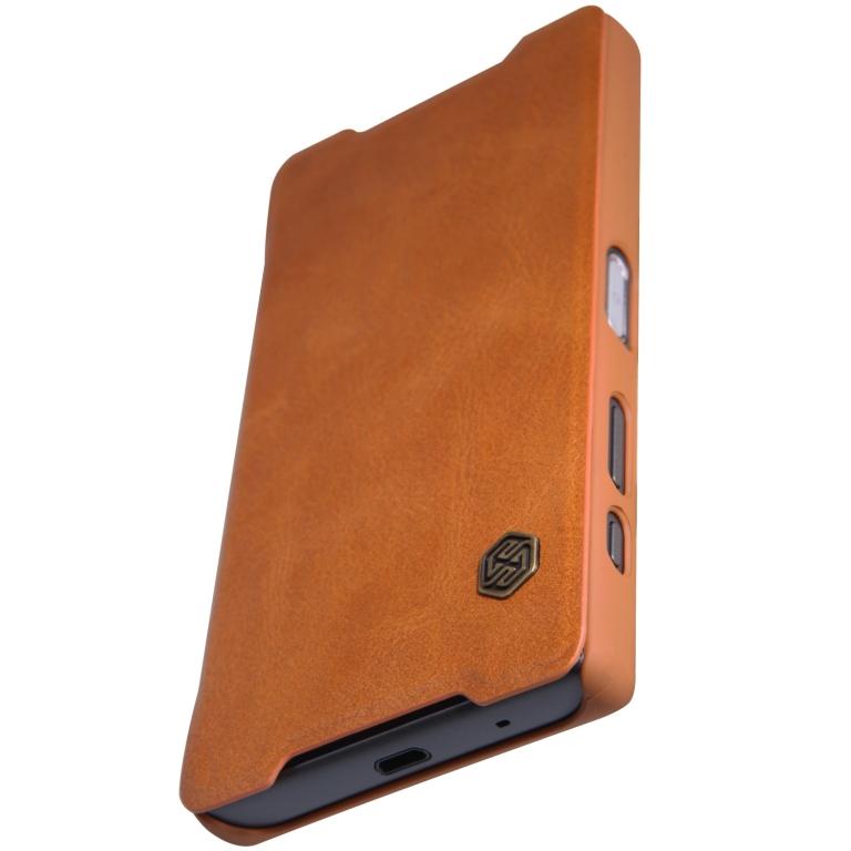Nillkin Qin Book flipové pouzdro Sony Xperia XZ Premium brown