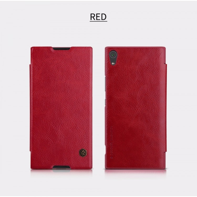 Nillkin Qin Book flipové pouzdro Sony Xperia XA1 Ultra red