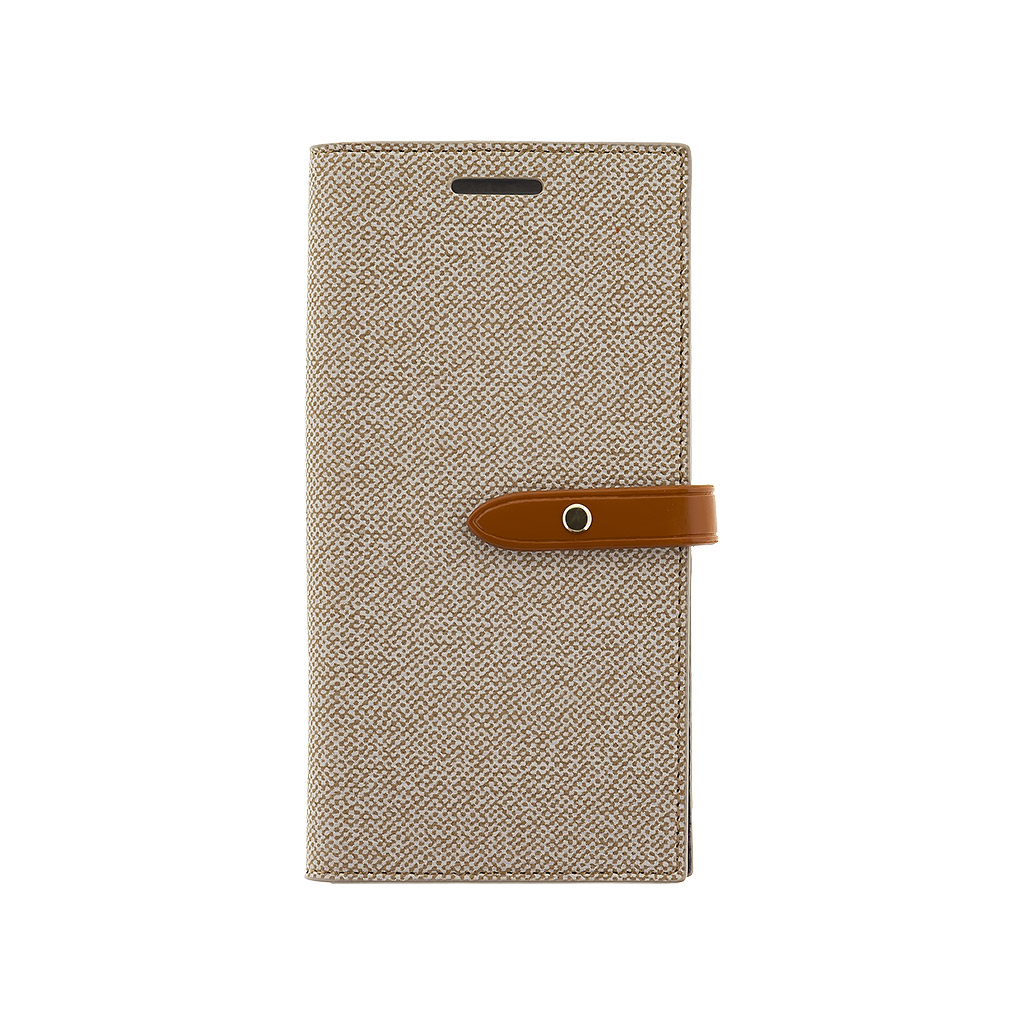 MERCURY MILANO pouzdro flip Samsung Galaxy S7 beige