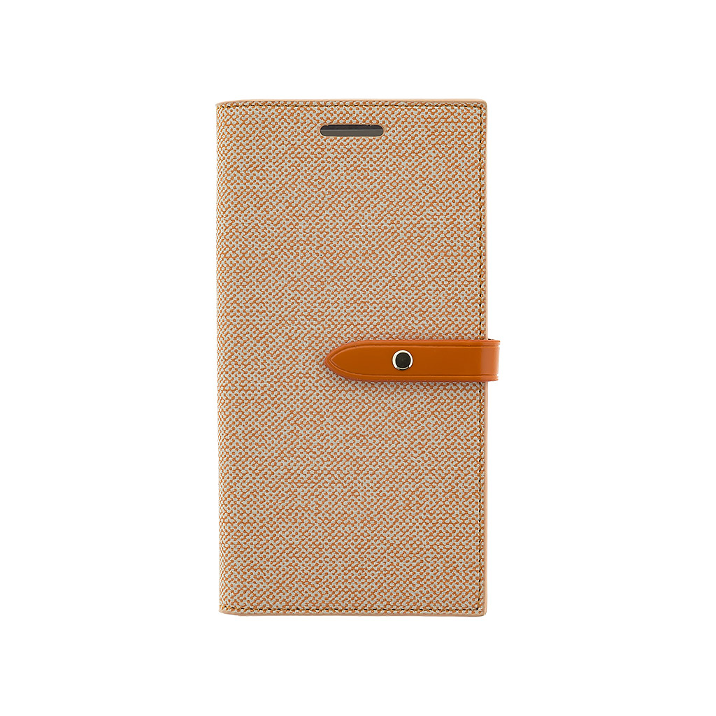 MERCURY MILANO pouzdro flip Samsung Galaxy S7 orange