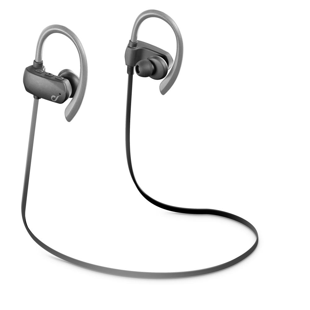 Sportovní sluchátka CELLULARLINE SPORT BOUNCE ultralight grey