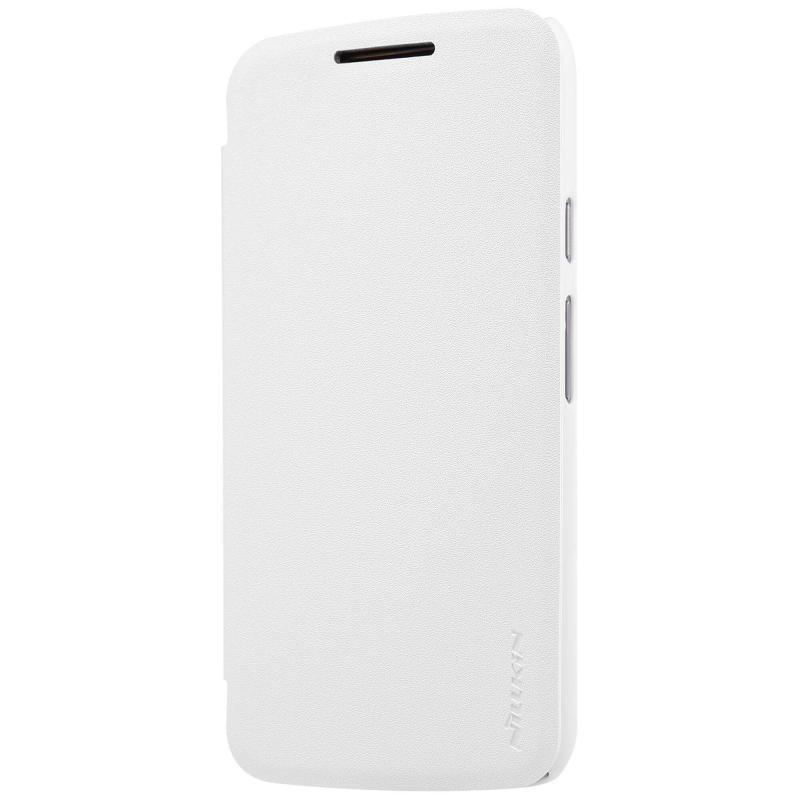 Nillkin Sparkle flipové pouzdro Lenovo Moto G4 Play white
