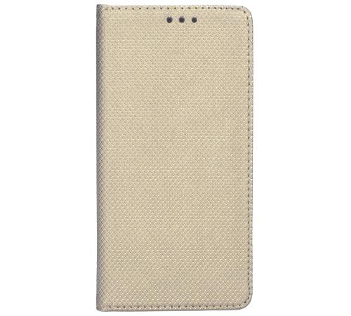 Smart Magnet flipové pouzdro Samsung Galaxy J3 2017 gold