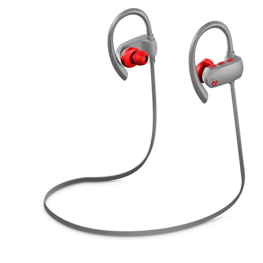 Sluchátka Cellularline GRASSHOPPER PRO Bluetooth grey