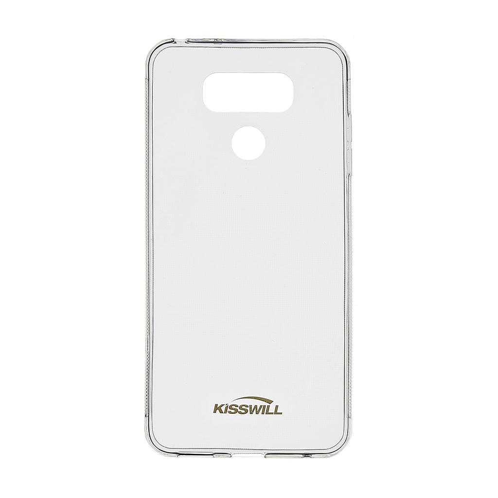 Silikonové pouzdro Kisswill pro LG H870 G6 transparent