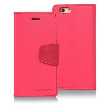 "MERCURY SONATA pouzdro flip APPLE IPHONE 6/6s 4.5"" hot pink"