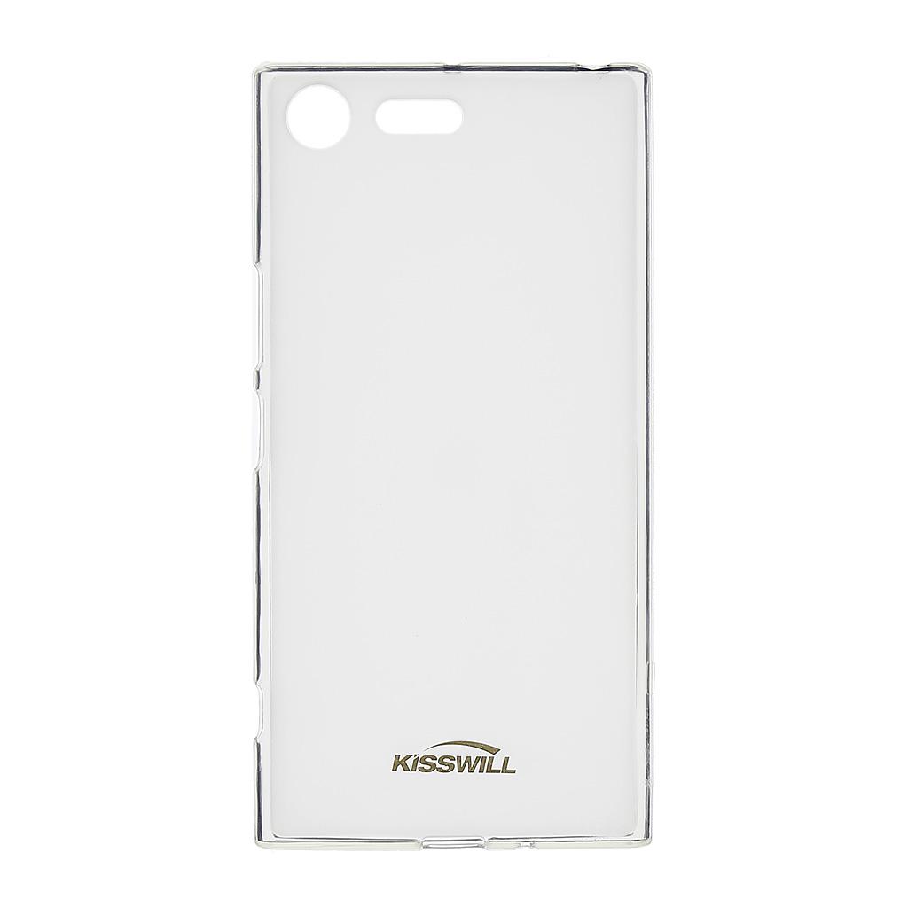Silikonové pouzdro Kisswill pro Sony G8142 Xperia XZ Premium transparent
