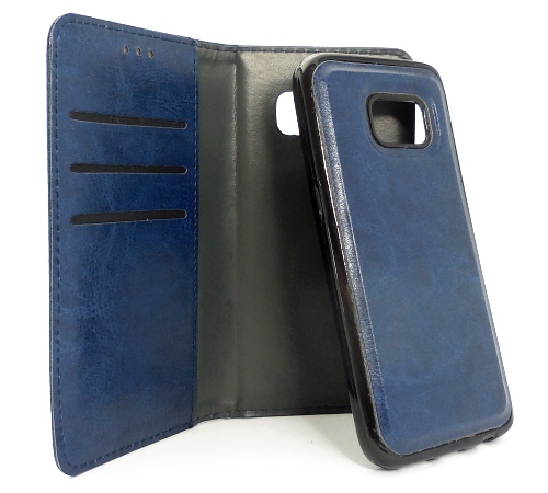 Twin 2v1 Flipové pouzdro Apple iPhone 5/5s/SE blue