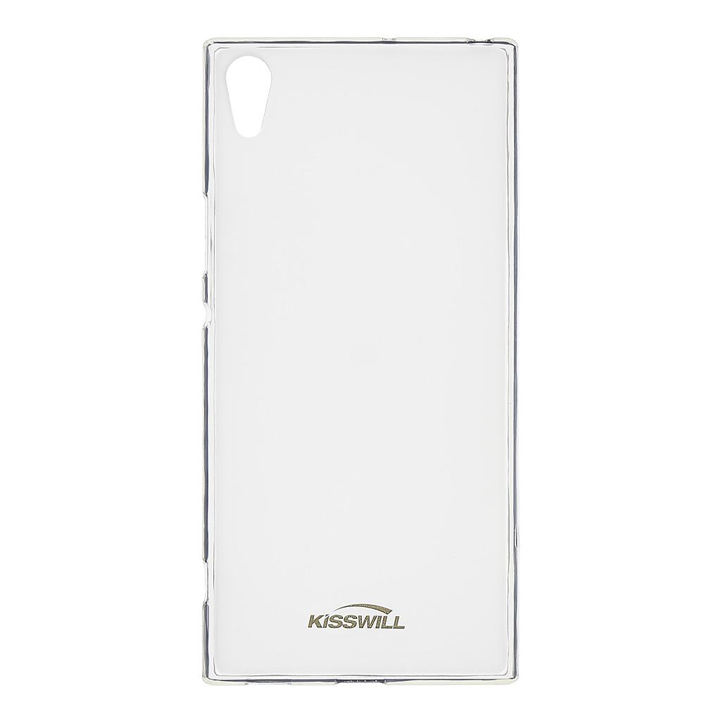 Silikonové pouzdro Kisswill pro Sony G3221 Xperia XA1 Ultra transparent