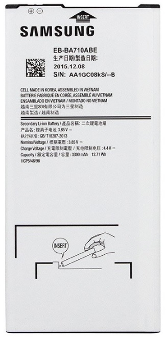 Baterie Samsung EB-BA710ABE Li-Ion 3300mAh (Bulk)