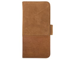 HOLDIT Wallet magnet pouzdro flip Apple iPhone 6s/7 brown leather/suede