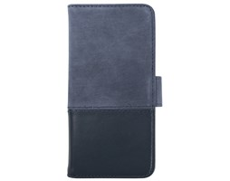 HOLDIT Wallet magnet pouzdro flip Apple iPhone 6s/7/8 blue leather/suede
