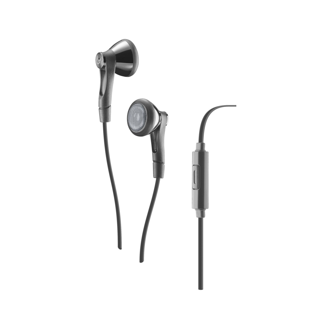 CELLULARLINE SOUL Sluchátka In-ear s mikrofonem 3,5 mm jack grey