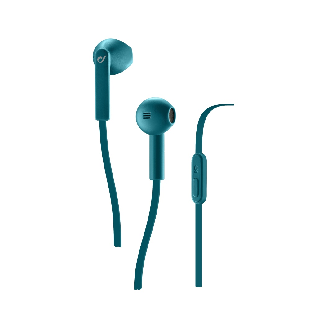 CELLULARLINE LOUD In-ear sluchátka s mikrofonem 3,5 mm jack green