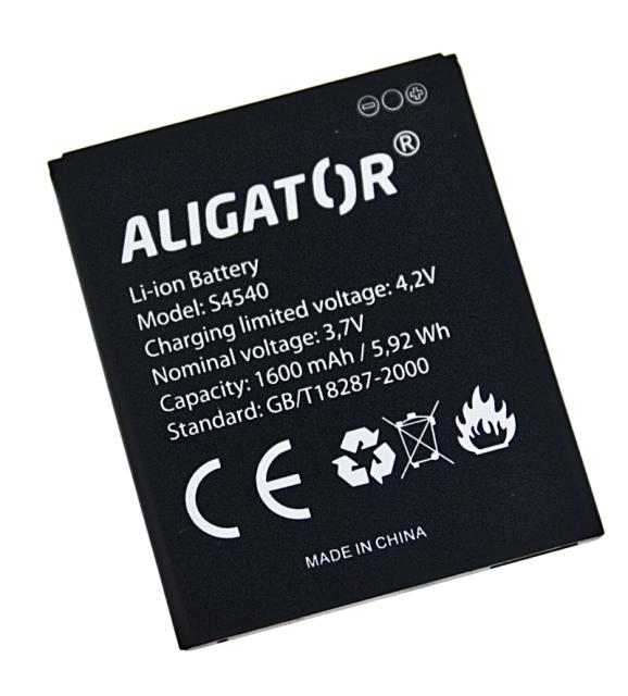 Baterie Aligator S4540 DUO, Li-Ion 1600mAh (bulk)