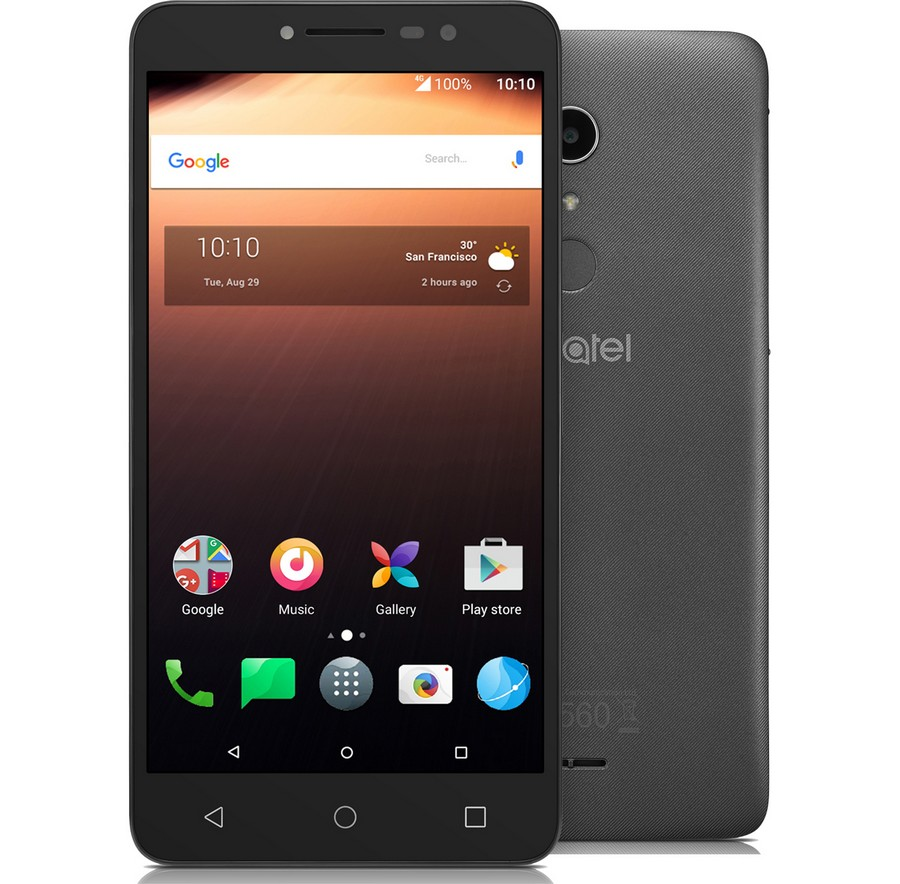 Alcatel A3 XL 9008D Grey Silver