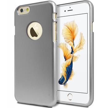 Silikonové pouzdro MERCURY iJELLY METAL HOLE pro Apple IPHONE 6 PLUS/6S PLUS ŠEDÉ