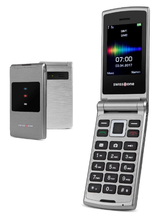 Swisstone SC700 Dual SIM Silver