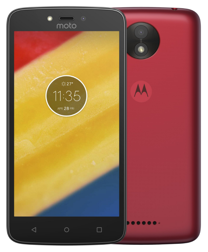Lenovo Moto C Plus Dual SIM Cherry Red