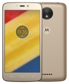Mobilní telefon Lenovo Moto C Plus Dual SIM Gold