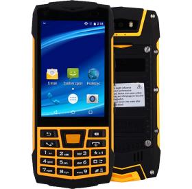 Mobilní telefon CUBE1 T1C Black / Yellow
