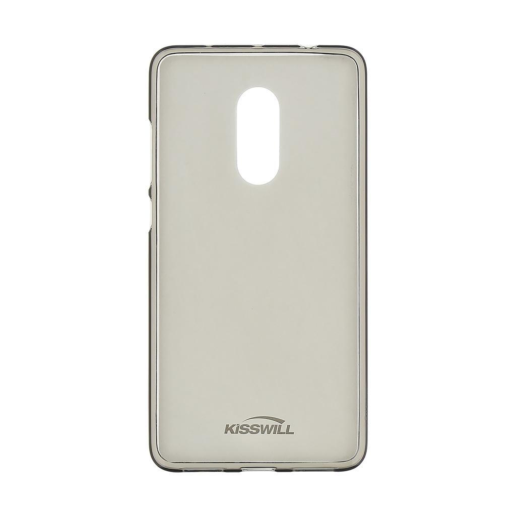 Kisswill TPU Pouzdro pro Xiaomi Redmi Note 4 Global Black