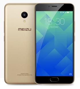 Mobilní telefon Meizu M5 2/16GB Gold