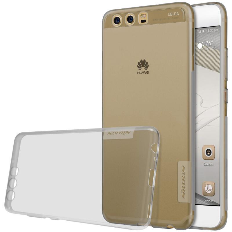 Nillkin Nature silikonové pouzdro pro Huawei P10 Plus, Grey