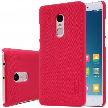 Zadní kryt Nillkin Super Frosted Shield pro Xiaomi Redmi Note 4, Red