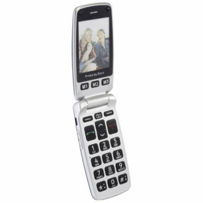 doro primo 413 white doro mobiln telefony f. Black Bedroom Furniture Sets. Home Design Ideas