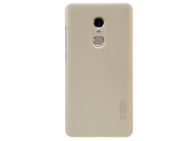 Nillkin Super Frosted kryt + fólie Xiaomi Redmi Note 4 Gold