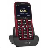 Mobilní telefon Doro Primo 366 Red