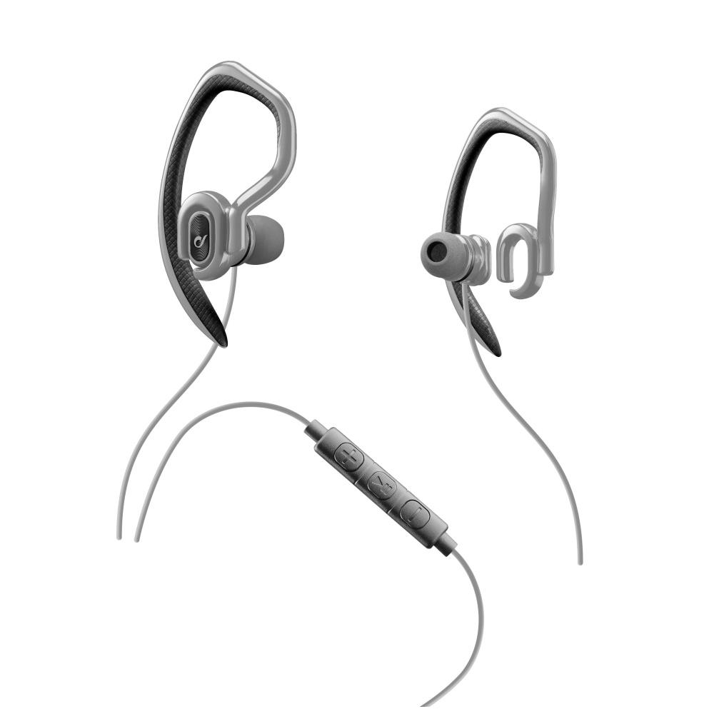 Sportovní sluchátka CELLULARLINE SPORT JUMP 3,5 mm jack grey