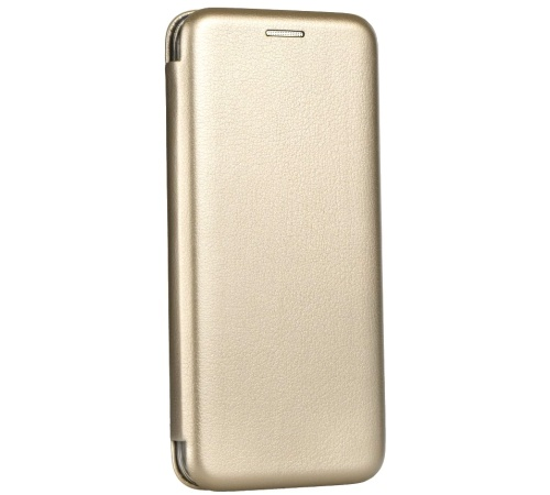 Forcell Elegance flipové pouzdro Apple iPhone 5/5s/SE gold