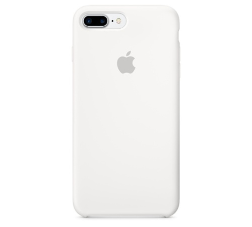 Silikonový ochranný kryt Apple pro iPhone 7 PLUS, white