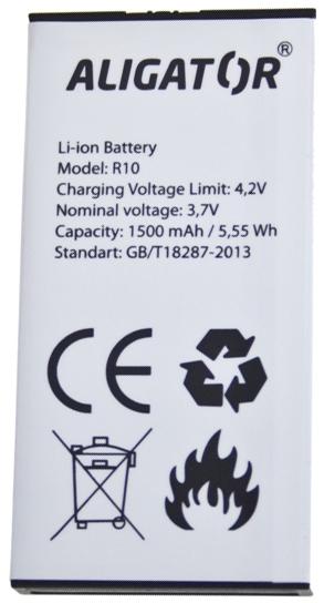 Aligator baterie Li-Ion 1500 mAh (bulk)