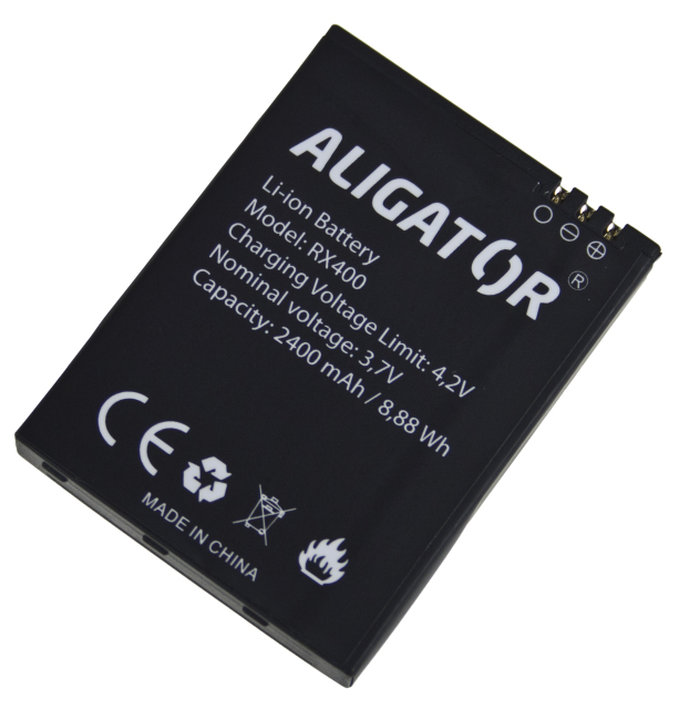 Baterie Aligator Li-Ion 2400 mAh (Bulk)