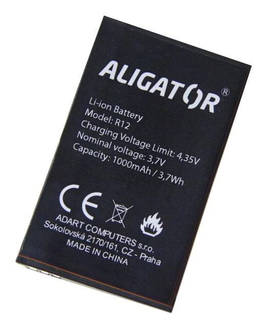 Baterie Aligator Li-Ion 1000 mAh (Bulk)