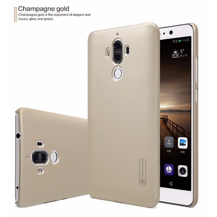 Zadní kryt Nillkin Super Frosted pro Huawei Mate 9 Gold