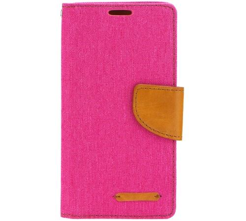 Canvas Diary flipové pouzdro Sony Xperia M4 Aqua pink