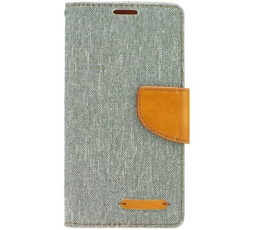 Canvas Diary flipové pouzdro Huawei Y5 II/ Y6 II Compact grey