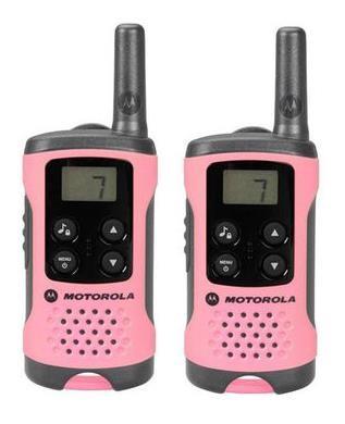 Motorola TLKR T41 růžová