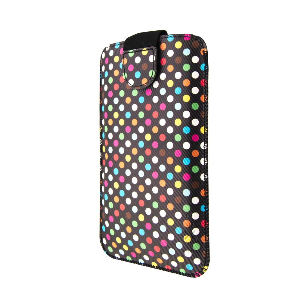 FIXED Soft Slim pouzdro velikost 5XL+ Rainbow Dots
