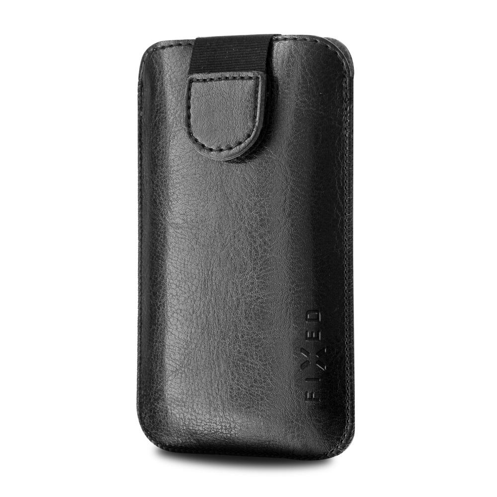 FIXED Soft Slim pouzdro velikost XL black matt