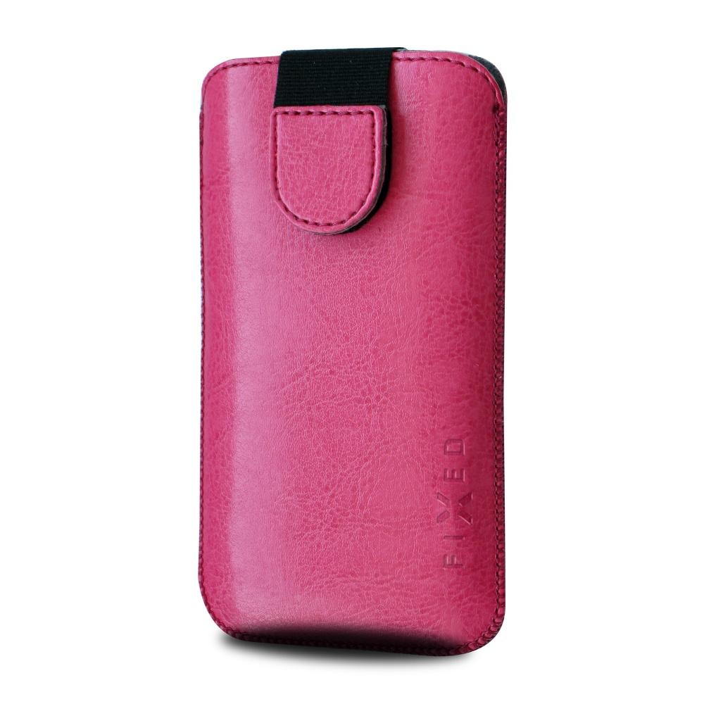 FIXED Soft Slim pouzdro velikost L pink