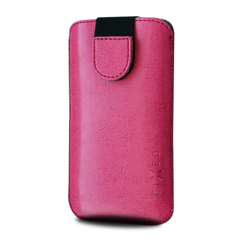 FIXED Soft Slim pouzdro velikost XL pink