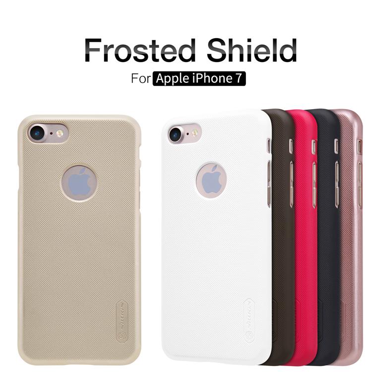 Zadní kryt Nillkin Super Frosted pro Apple iPhone 7 Rose Gold