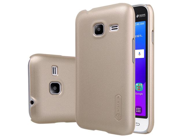 Zadní kryt Nillkin Super Frosted pro Samsung Galaxy J1 Mini Gold